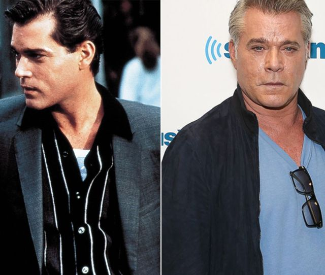 Photo Ray Liotta Is Seen Here In Goodfellas Right Ray Liotta Is Seen