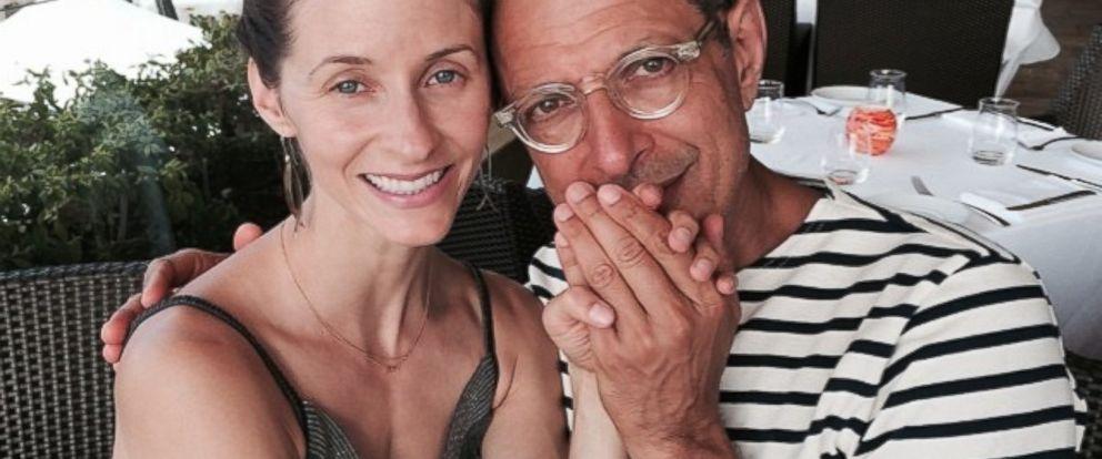 Jeff Goldblum Engaged To 31-Year Old Emilie Livingston