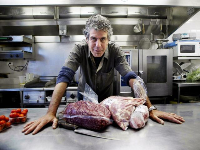 PHOTO: Chef Anthony Bourdain from New York in Sydney in this March 17, 2005 file photo.