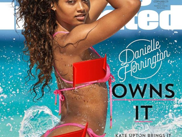 PHOTO: Danielle Herrington appears on the cover of the 2018 Sports Illustrated Swimsuit Issue.<p itemprop=