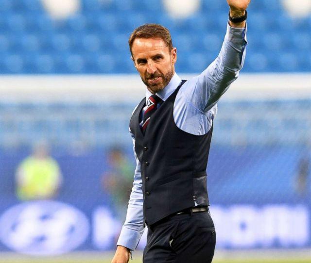 Waistcoatwednesday Football Fans Wear The Garment Ahead Of Englands World Cup Match