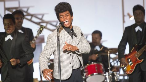How 'Get On Up's' Chadwick Boseman Transformed Into Legendary James Brown - ABC News