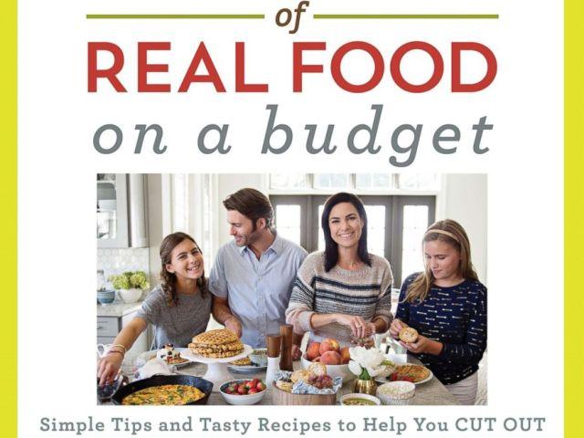PHOTO: Lindsey Rose Johnsons 100 Days of Real Food cookbook.
