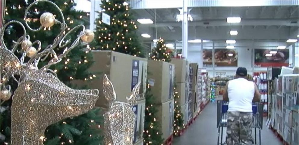 Christmas Display Spotted In August At Florida Sams Club