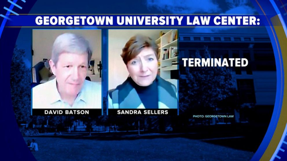 Sandra Sellers Georgetown Law Professor Fired For Disparaging Black Students 3/12/21