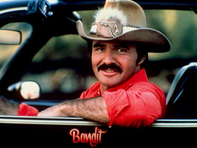PHOTO: Burt Reynolds in the car from Smoky and the Bandit in 1970 in N.Y.