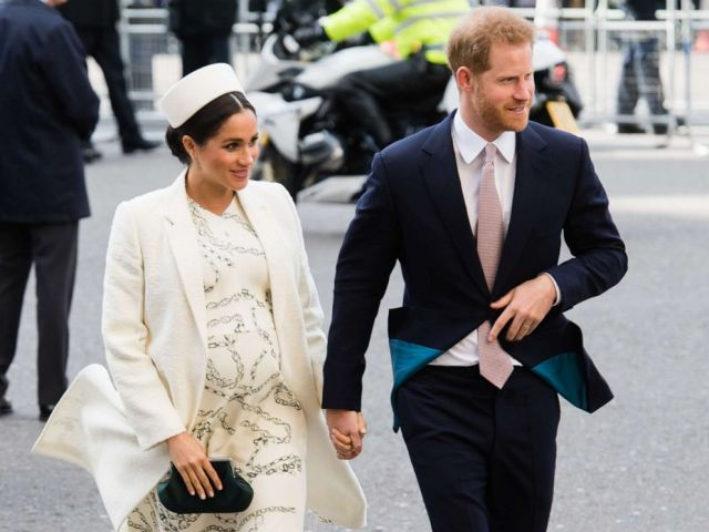 PHOTO: Prince Harry, Duke of Sussex and Meghan, Duchess of Sussex attend the Commonwealth Day service at Westminster Abbey, March 11, 2019, in London.