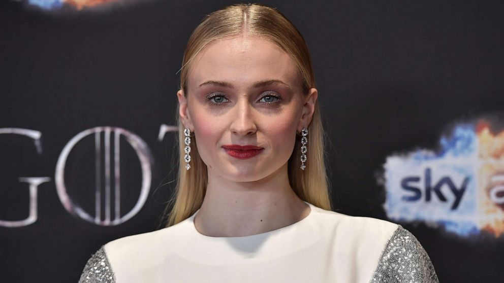 """Sophie Turner attends the """"Game of Thrones"""" Season 8 screening at the Waterfront Hall, April 12, 2019, in Belfast, Northern Ireland."""