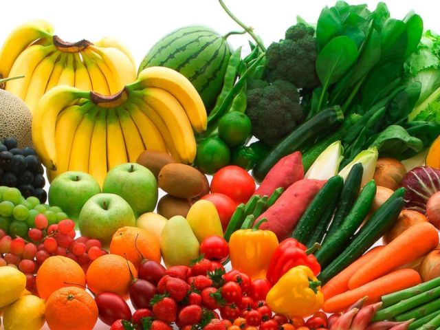 PHOTO: Various fruits and vegetables are pictured in an undated stock photo.
