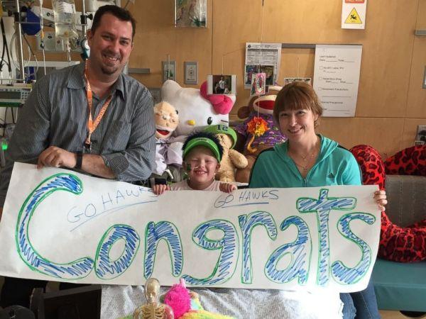 Seattle Children's Hospital Patients Congratulate the ...