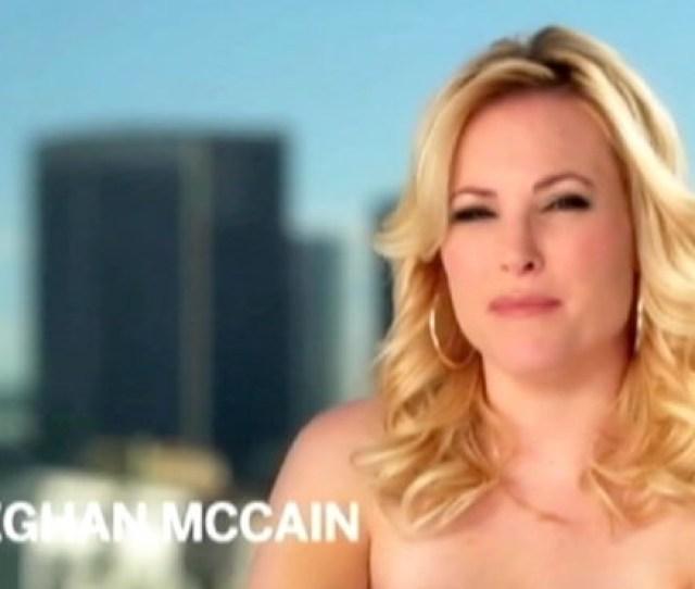 Meghan Mccain Goes Naked For Skin Health