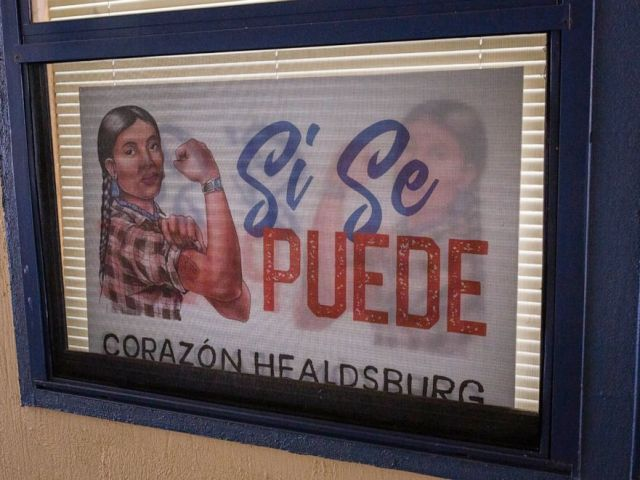 PHOTO: Corazon Healdsburg, a nonprofit that works with the local Latino community, is helping families affected by the Kincade Fire.