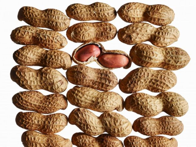 PHOTO: Peanuts are pictured in an undated stock photo.