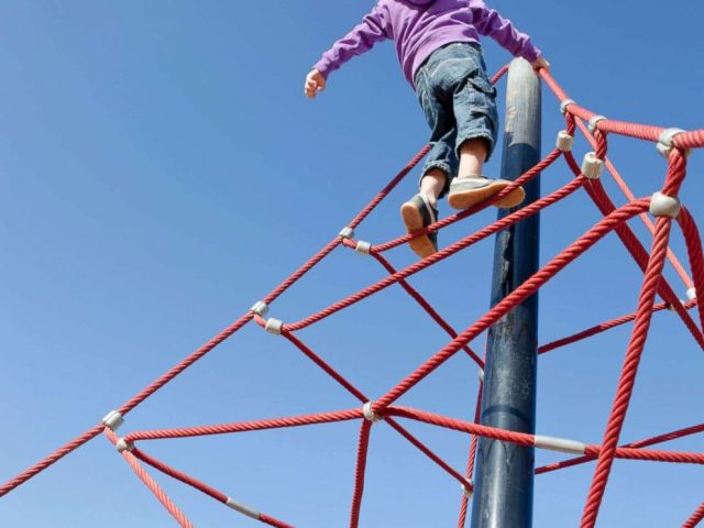 PHOTO: A child play in a playground in this undated stock photo.