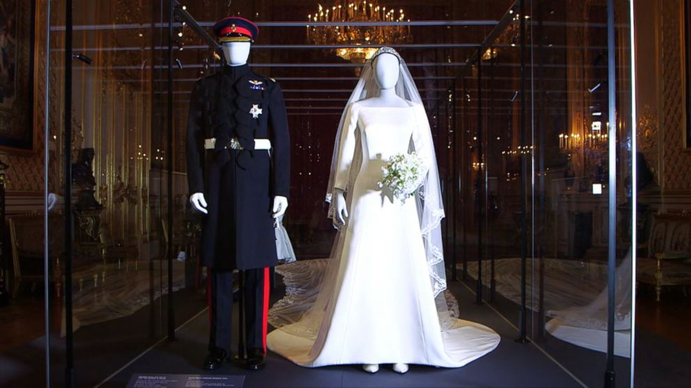 Meghan And Harry's Wedding Outfits Now On Display Video