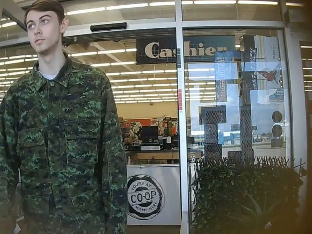 PHOTO: Bryer Schmegelsky, 18 from Port Alberni, named as a suspect along with Kam McLeod, 19 in the murder of an Australian tourist and his American girlfriend in northern British Columbia, and charged with the second-degree murder of Leonard Dyck.