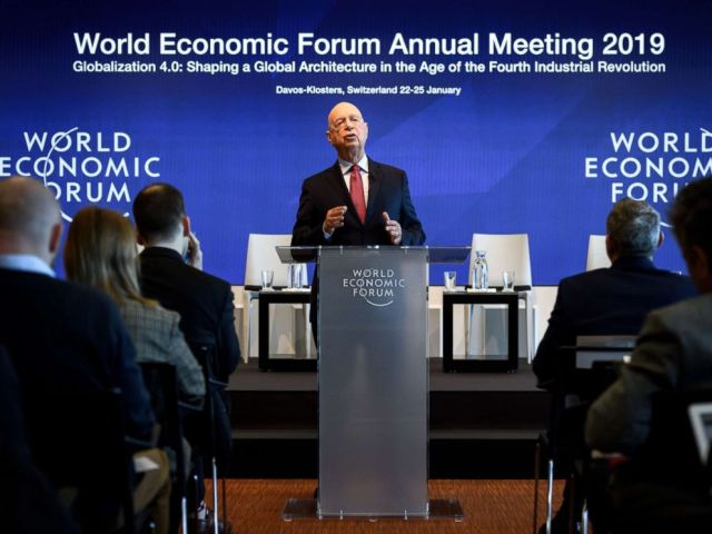 PHOTO: Founder and Executive Chairman of the World Economic Forum Klaus Schwab attends a press conference ahead of the 2019 edition of the annual meeting, Jan. 15, 2019 in Geneva.