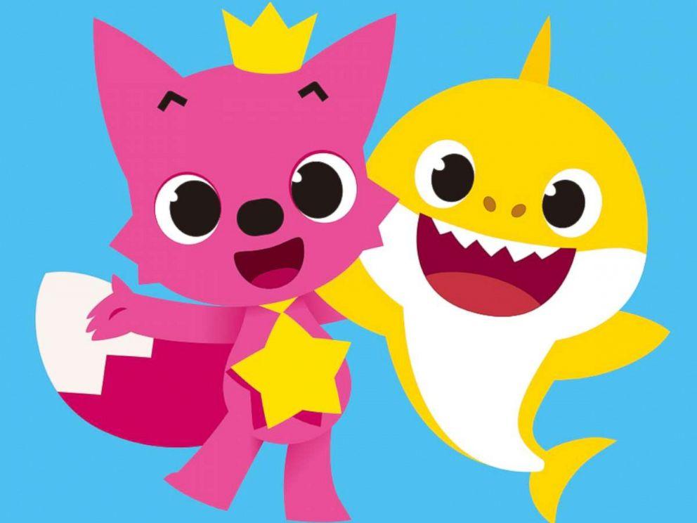 Baby Shark Pinkfong Characters Printables