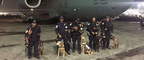 US search and rescue experts arrive in Mexico after deadly ...