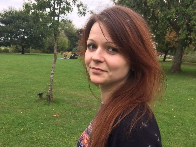 PHOTO: This undated image taken from the Facebook page of Yulia Skripal on March 8, 2018 allegedly shows Yulia Skripal, the daughter of former Russian spy Sergei Skripal, in an unknown location.