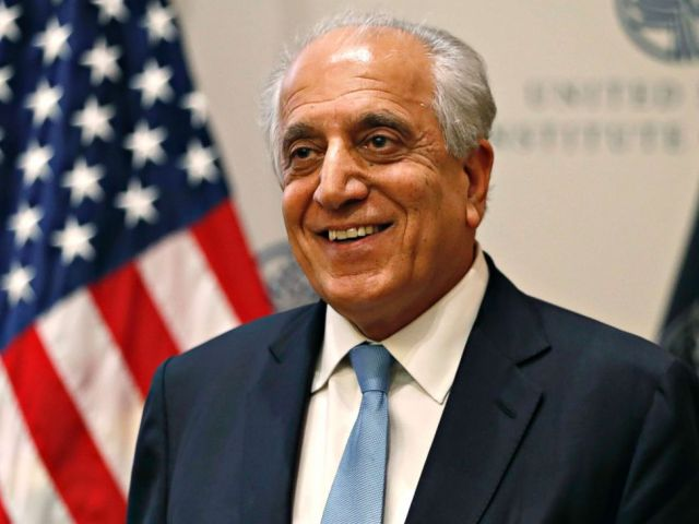 PHOTO: Special Representative for Afghanistan Reconciliation Zalmay Khalilzad at the U.S. Institute of Peace, in Washington, Feb. 8, 2019.