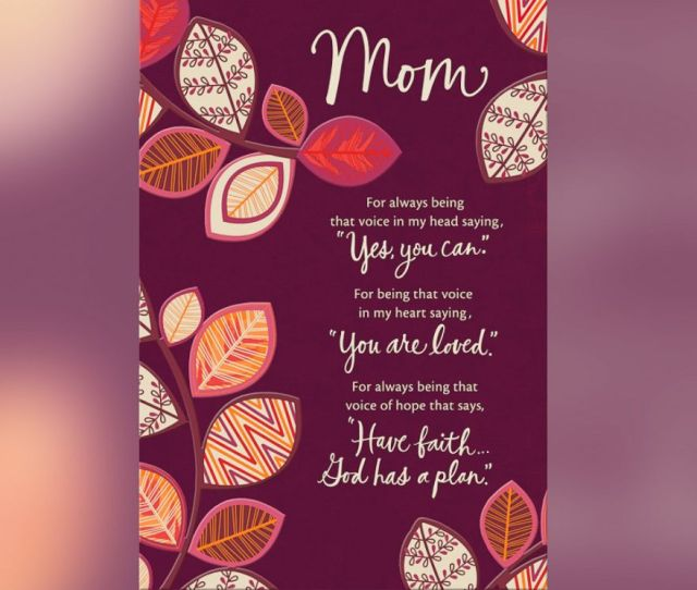 Photo One Of The Mothers Day Cards Written By Melvina Young