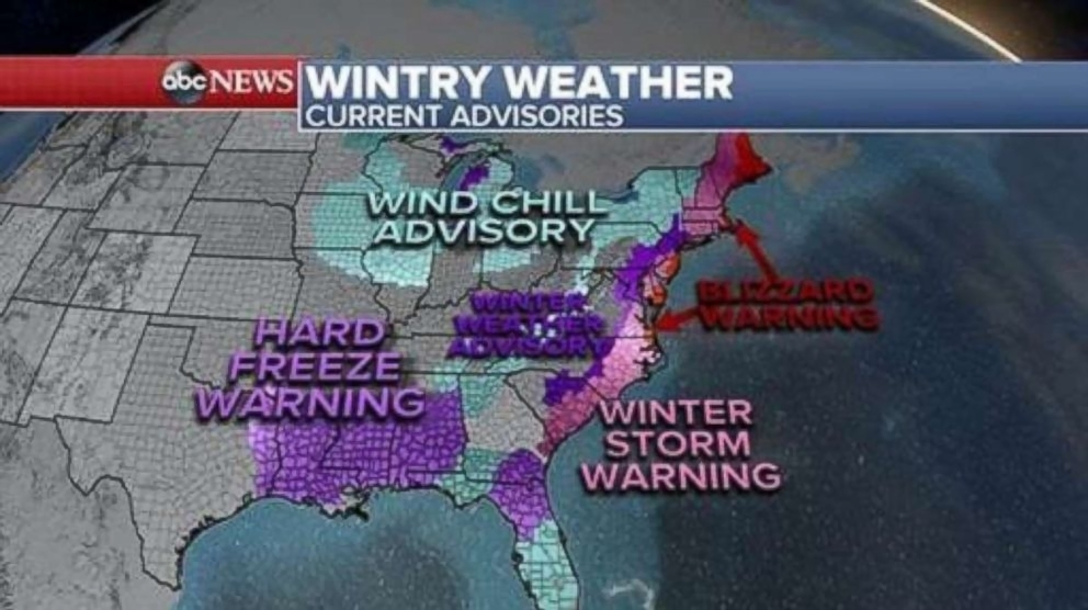 Winter storm slams Southeast  forecast to explode as  bomb cyclone     PHOTO  Over 30 states are under winter alerts  Jan  3  2018