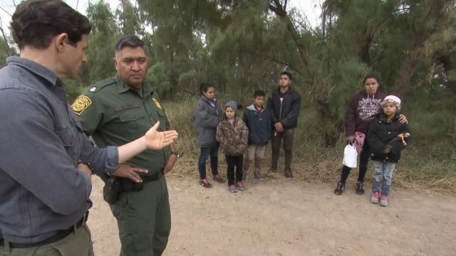 VIDEO: What the situation at the US southern border is like now