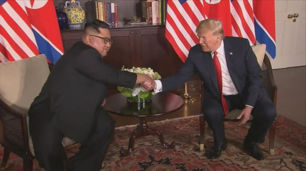 'We will have a terrific relationship:' Trump says of Kim ...