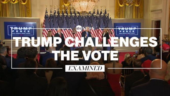 Election 2020: A look at Trump campaign election lawsuits and where they stand - ABC News