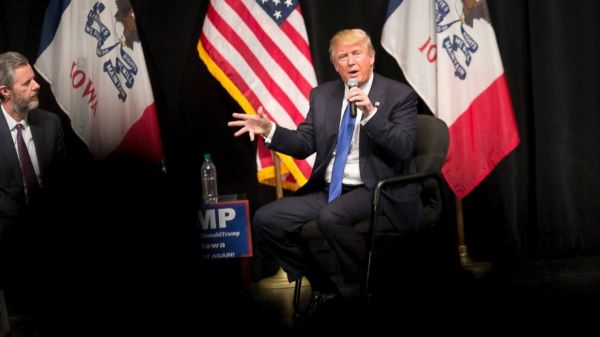 Trump slams 'critics' in his first commencement address as ...