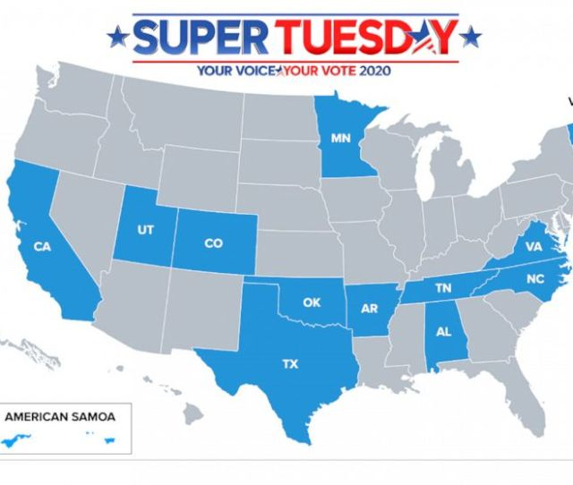 What Is Super Tuesday And Why Is It Important Heres What You