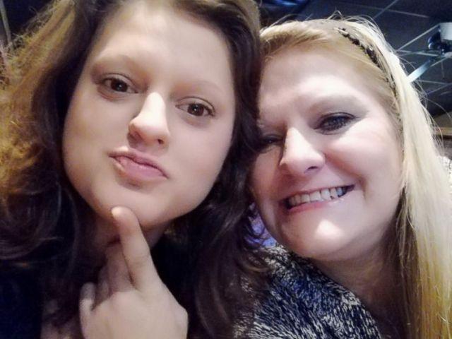 PHOTO: Angelica Caye Kuhn is seen with her daughter, Lauren Kuhn, left, in this undated photo.
