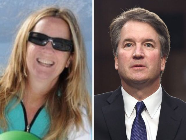 PHOTO: Professor Christine Blasey Ford is seen in an undated photo posted to ResearchGate and Supreme Court Justice nominee Brett Kavanaugh appears at a confirmation hearing in Washington, Sept. 4, 2018.