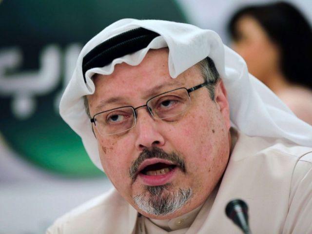 PHOTO: Feb. 1, 2015 file photo of Saudi journalist Jamal Khashoggi in Manama, Bahrain. Turkey claims that Khashoggi, who wrote for The Washington Post, was killed inside a Saudi diplomatic mission in Turkey.