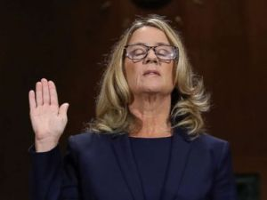 SLIDESHOW: Photos reveal the drama of the Kavanaugh hearing and Christine Blasey Fords testimony