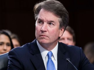 Image result for Brett Kavanaugh with Democratic Party