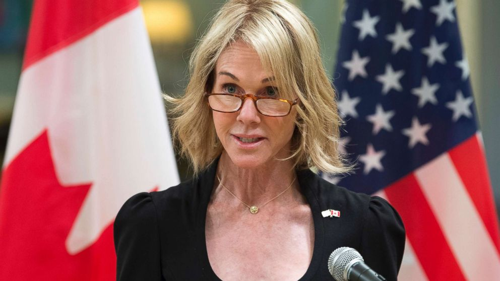 President Trump names Kelly Knight Craft new pick for US ...