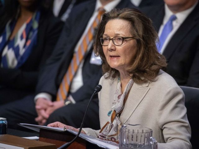 PHOTO: CIA director nominee Gina Haspel testifies at her Senate Intelligence Committee confirmation hearing on Capitol Hill in Washington D.C.,May 9, 2018.