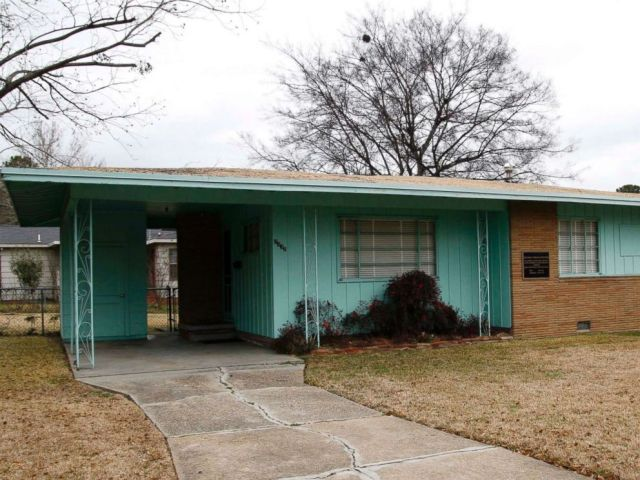 PHOTO: The house of slain civil rights leader Medgar Evers located in Jackson, Miss., is seen on Jan. 29, 2008.