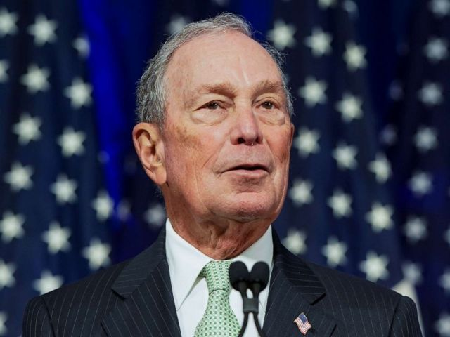 PHOTO: Billionaire Michael Bloomberg addresses a news conference after launching his presidential bid in Norfolk, Va., Nov. 25, 2019.