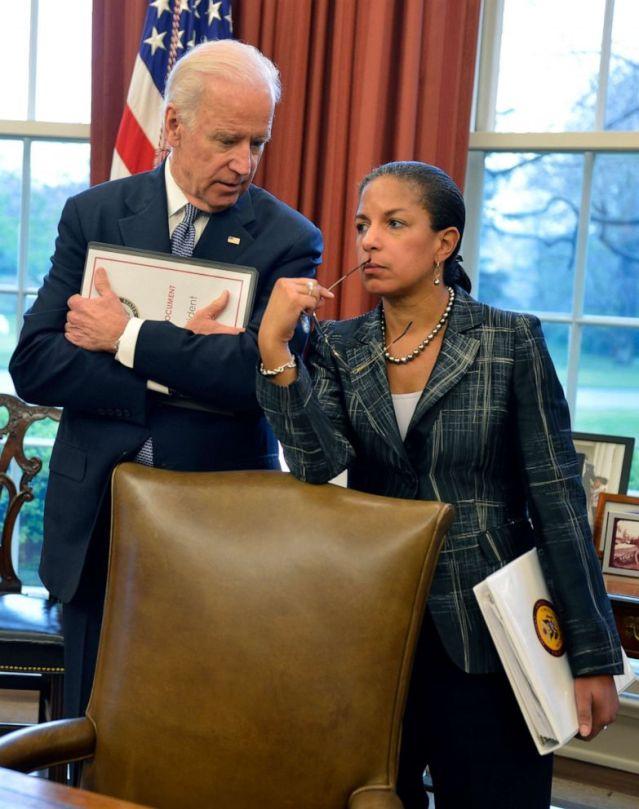 Résultat d'image pour Susan Rice est le vrai président