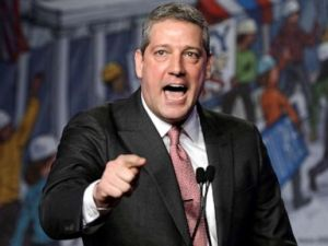 PHOTO: Democratic presidential candidate Rep. Tim Ryan speaks at the North Americas Building Trades Unions (NABTU) 2019 legislative conference in Washington, April 10, 2019.