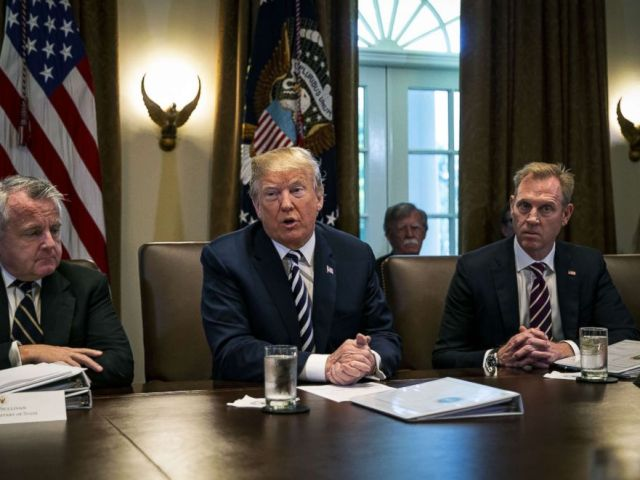 PHOTO: President Donald Trump speaks about three hostages released from North Korea, during a Cabinet meeting at the White House, May 9, 2018.