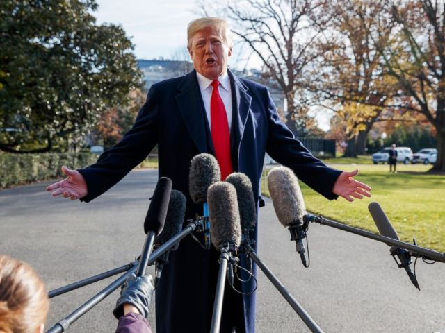 PHOTO: In this Dec. 7, 2018, file photo, President Donald Trump announces that he is nominating William Barr as his Attorney General, on the South Lawn of the White House, in Washington.