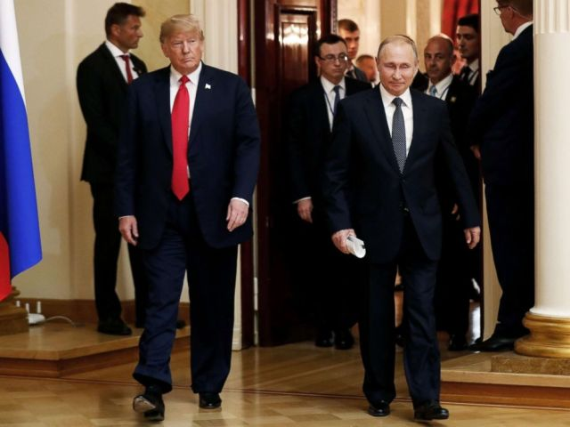 WH says Trump now 'disagrees' with Putin proposal to question ...