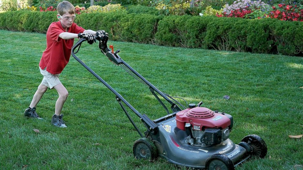 11 Year Old Who Mowed White House Lawn Said He Wanted To Charge Trump His Regular Price Abc News