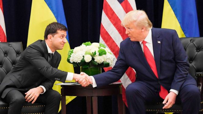 Image result for Pres Trump & Ukraina prsident