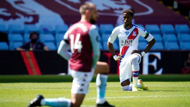 Boy, 12, arrested after Palace player Zaha gets racist posts - ABC ...