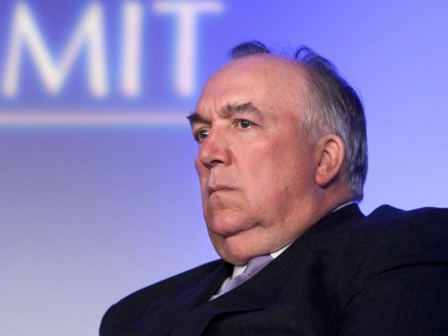 This June 15, 2009, file photo, shows former Michigan Republican Gov. John Engler at a meeting in Detroit.